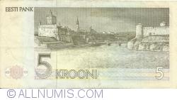 Imaginea #2 a 5 Krooni 1992