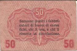 Image #2 of 50 Centesimi 1918 (2. I.)