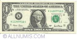 Image #1 of 1 Dollar 2001 - K
