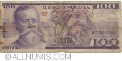 Image #1 of 100 Pesos 1978 (5. VII.) - Serie JV