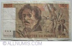 Image #1 of 100 Francs 1993