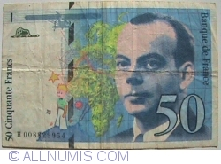 Image #1 of 50 Francs 1993