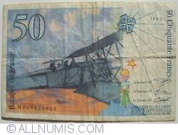 Image #2 of 50 Francs 1993