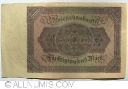 50 000 Mark 1922 (19. XI.)