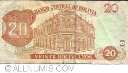 20 Bolivianos ND (2015-2016)