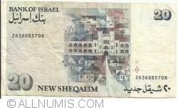 20 New Sheqalim 1993 (JE 5753)