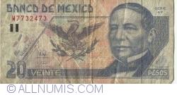 Image #1 of 20 Pesos 1998 (17. III.) - Serie AY