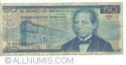 Image #1 of 50 Pesos 1981 (27. I.) - Serie LE