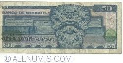Image #2 of 50 Pesos 1981 (27. I.) - Serie LE