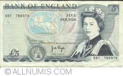 Image #1 of 5 Pounds ND (1973-1980)