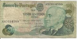 Image #1 of 20 Escudos Ouro 1978 (4. X.) - Signatures Emilio Rui Vilar de Veiga Peixoto/ Abel Antonio Pinto dos Reis