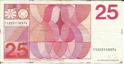 Imaginea #2 a 25 Gulden 1971 (10. II.)