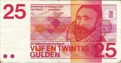 Imaginea #1 a 25 Gulden 1971 (10. II.)