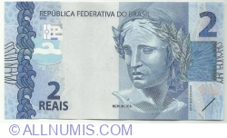 Image #1 of 2 Reais 2010 - signatures Eduardo Guardia / Ilan Goldfajn
