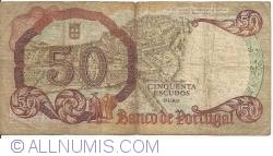 50 Escudos 1964 (28. II.) - Signatures Manuel Jacinto Nunes/  António Alves Salgado Júnior