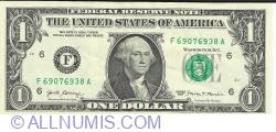 Image #1 of 1 Dolar 2017 - F