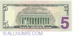 5 Dollars 2013 - L