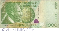 1000 Lekë 2001