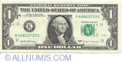 1 Dollar 2017 - K
