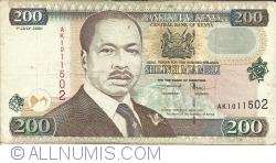 Imaginea #1 a 200 Shillingi 2000 (1. VII.)