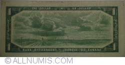 Imaginea #2 a 1 Dolar 1954 (1961-1972) - semnături Beattie - Rasminsky