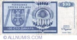 Imaginea #1 a 100 Dinari 1992