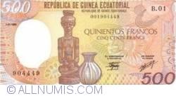 Image #1 of 500 Francos 1985 (1. I.)