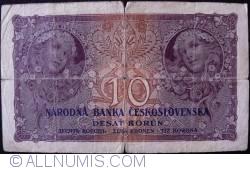 Imaginea #1 a 10 Coroane 1927 (2. I.)
