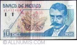 Image #1 of 10 Pesos 1994 (6. V.) - Serie Q