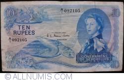 Imaginea #1 a 10 Rupees 1968 (1. I.)