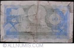 Imaginea #2 a 10 Rupees 1968 (1. I.)