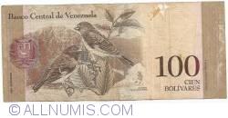 Imaginea #2 a 100 Bolivares 2008 (19. XII.)