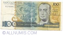 Imaginea #1 a 100 Cruzados ND (1987) - semnături Luiz Carlos Bresser Gonçalves Pereira/ Fernando Millet de Oliveira