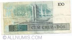 Imaginea #2 a 100 Cruzados ND (1987) - semnături Luiz Carlos Bresser Gonçalves Pereira/ Fernando Millet de Oliveira