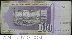 Imaginea #1 a 100 Denari (Денари) 1996 (8. IX.)