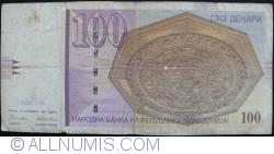 Imaginea #2 a 100 Denari (Денари) 1996 (8. IX.)