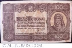 Imaginea #1 a 100 Korona 1923 (1. VII.)
