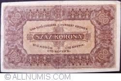 Imaginea #2 a 100 Korona 1923 (1. VII.)
