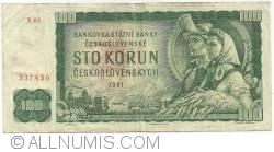 Imaginea #1 a 100 Korun 1961