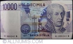Image #1 of 10000 Lire 1984 (3. IX.) - Signature Antonio Fazio/Fortunato Speziali
