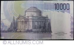 Image #2 of 10000 Lire 1984 (3. IX.) - Signature Antonio Fazio/Fortunato Speziali
