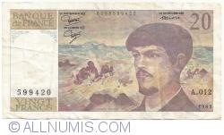 Image #1 of 20 Francs 1983