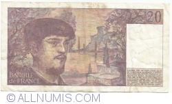 Image #2 of 20 Francs 1983