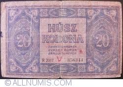 Imaginea #2 a 20 Coroane 1919 (09. VIII.)