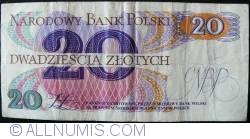 Image #2 of 20 Zlotych 1982 (1. VI.) - 2