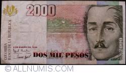 Image #1 of 2000 Pesos 1998 (6. I.)