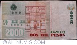 Image #2 of 2000 Pesos 1998 (6. I.)