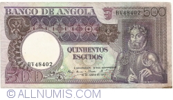 Imaginea #1 a 500 Escudos 1973 (10. VI.)