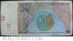 Imaginea #2 a 50 Denari (Денари) 1996 (8. IX.)