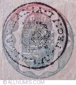 50 Kronen ND (1919 - old date 2.I.1914)